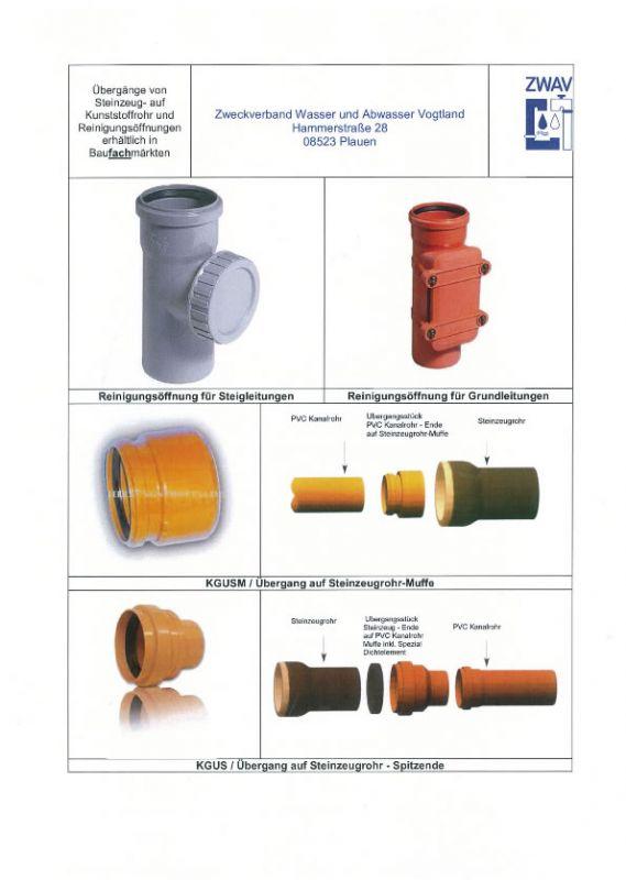 Turbo Abwasserhausanschluss - ZWAV HN27